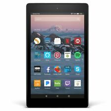 Amazon Kindle Fire HD 8 Tablet 16GB with Alexa 7th Gen 2017 Black
