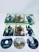 Call of Duty Modern Warfare Trilogy 1, 2 & 3- Xbox 360/One Bundle - Complete