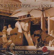 GERD LAPPE singt KNEF - CD - FÜR DICH SOLL'S ROTE ROSEN REGNEN ( Neu )