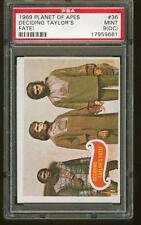 """1969 Topps Planet of the Apes #36 Deciding Taylor""""S Fate! Psa 9 (Oc) Mint tough!"""