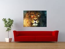 THE CHRONICLES OF NARNIA LION ASLAN LEWIS GIANT ART PRINT PANEL POSTER NOR0621