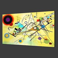 WASSILY KANDINSKY MODERN PICTURE POSTER CANVAS PRINT ART 30 X 20 Inch WALL ART
