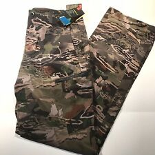 Under Armour ArmourVent NFZ Forest Camo Field Pants 1328537-940 Mens 30x36 $120
