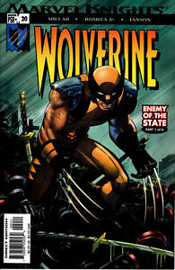WOLVERINE #20 NM 2003 ENEMY OF THE STATE PART 1 OF 6 MARVEL COMICS