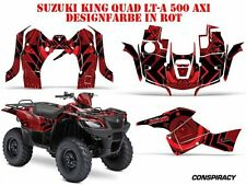 AMR RACING DEKOR KIT ATV SUZUKI KING QUAD LTA 450/500/700/750 CONSPIRANCY B