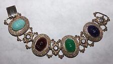 Vintage Bracelet Wide And Unusual Cool Piece!