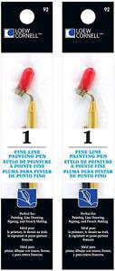 Loew-Cornell Fine Line Painting Pen 2-Pack
