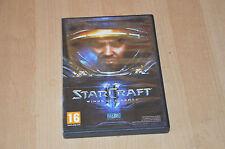 Jeu PC MAC StarCraft 2 II - complet VF