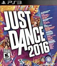 (NEW SEALED) JUST DANCE 2016 PS3 PLAYSTATION 3 DANCING FAMILY FUN GAME