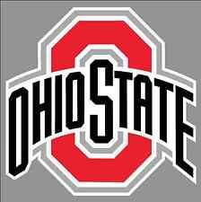 "Ohio State Buckeyes 6"" Wide Premium Vinyl Decal Bumper Sticker - Full Color NCAA"