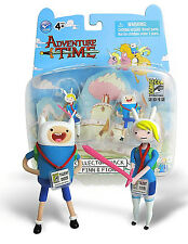 ADVENTURE TIME Collector's Pack___FINN & FIONNA figures_Comic Con 2012 Exclusive