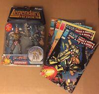 Legendary Comic Book Heroes Superpatriot Action Figures Pitt Series Variant
