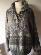 Tumi Alpaca Peruvian Jacket Cardigan Coat Wool M