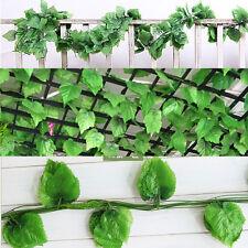 7.5ft Artificial Grape Leaf Garland Plant Vine Foliage Flower Home Wedding Decor