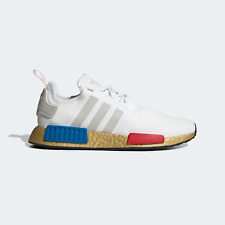 adidas Originals NMD_R1 White / Gold Shoes Trainers