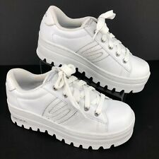 Skechers Active Comfort Casual Athletic Shoes White Lace Up WOMENS SIZE 8