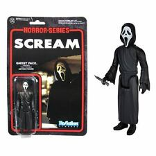 "GHOST FACE ReAction Super 7 SCREAM 3.75"" Retro Figure Funko Horror Series"