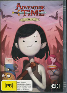 Adventure Time Steaks! DVD NEW Region 4