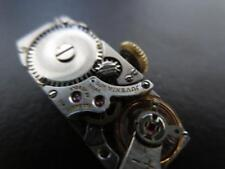 Vintage Juvenia 865 Mechanical Ladies Swiss Watch Movement Running Parts Repairs