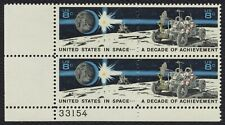#1435b 8c U.S. In Space, Plate Block [33154 LL] Mint **ANY 4=FREE SHIPPING**