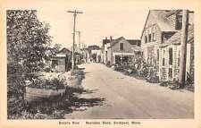 Rockport Massachusetts Bearskin Neck Artists Row Antique Postcard K21137