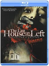 THE LAST HOUSE ON THE LEFT (1972 Unrated)-  Blu Ray - Sealed Region free for UK