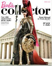 BARBIE COLLECTOR Catalog Collection Book Ad Magazine Athena • Spring 2010