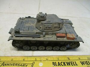 Ultimate Soldier 1/32 German Panzer III Tank WWII Rare 21st Century Toy