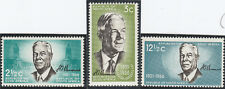 South Africa 1966 Verwoerd Commemoration SG 266-268  Mint Never Hinged a21