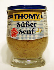 THOMY Bavarian Style Sweet Mustard 250ml, Süßer Senf