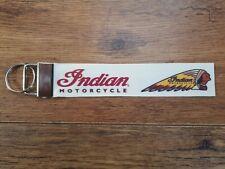 Indian Motorcycles Scout Custom Chief Bobber Spring Field Keyring Key Fob Biker