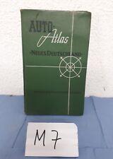 Auto -Atlas Neues Deutschland  1957 mit sehr viel Werbung