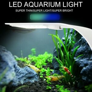 Super Slim LED Aquarium Light Plants Grow Lighting for Fish Tank