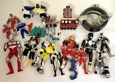Mighty Morphin Power Rangers action figure parts repair lot Ultraman megazord