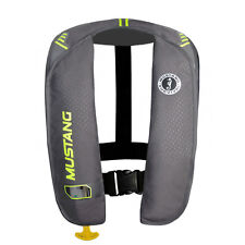 MUSTANG MIT 100 INFLATABLE PFD MANUAL GRAY/YELLOW-