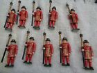 Warwick Miniatures #6, British Yeomen of the Guard lot of 10 lead soldiers 54mm