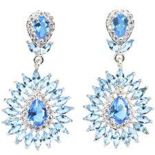 49cc6b3f9c23 Pendientes de joyería con diamantes azul