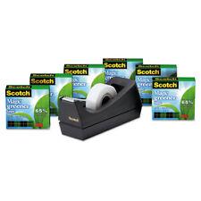 """Scotch Magic Greener Tape with C38 Dispenser 3/4"""" x 900"""" 6/Pack 8126PC38"""