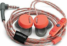 New UrbanEars Reimers Rush(Orange/Gray)Apple Headphones/EarPhone w/Remote&Mic