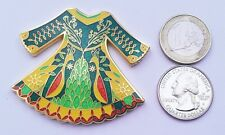 ☆ Irish Dancing Dress Geocoin Bright / Nickel Scavok Unactivated