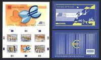 Italien 2009 - 10 Jahre EURO Mitläufer - Markenheftchen Booklet Nr. 3348-52 mnh