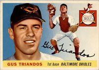 1955 Topps 64 Gus Triandos RC EX-MT #D250241