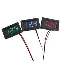 Mini Voltmeter Tester Digital Voltage Test DC 0-30V Red Pro Auto Car Kit  Dylj