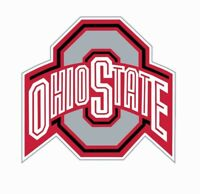 Ohio State Buckeyes Football Full Color Logo Sports Decal Sticker-FREE SHIPPING