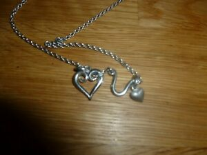hot diamonds heart pendant and chain