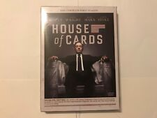 House of Cards: The Complete First Season (DVD, 2013, 4-Disc Set) New