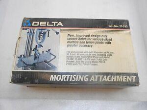 Mortising attachment by Delta No. 17-935