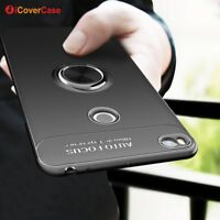For Xiaomi Mi Max 2 Shockproof Silicone TPU Ring Stand Case Cover