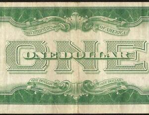 1934 $1 DOLLAR SILVER CERTIFICATE FUNNYBACK BLUE SEAL NOTE OLD PAPER MONEY