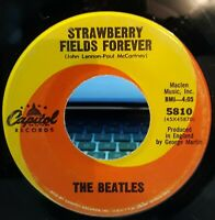 RARE SP The Beatles  Strawberry Fields Forever/Penny Lane  USA Capitol 5810 1967
